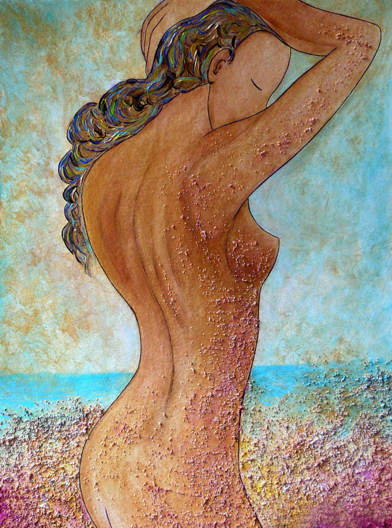 "Gioia Albano - ""Colors and Sand"" Divine nude collection"