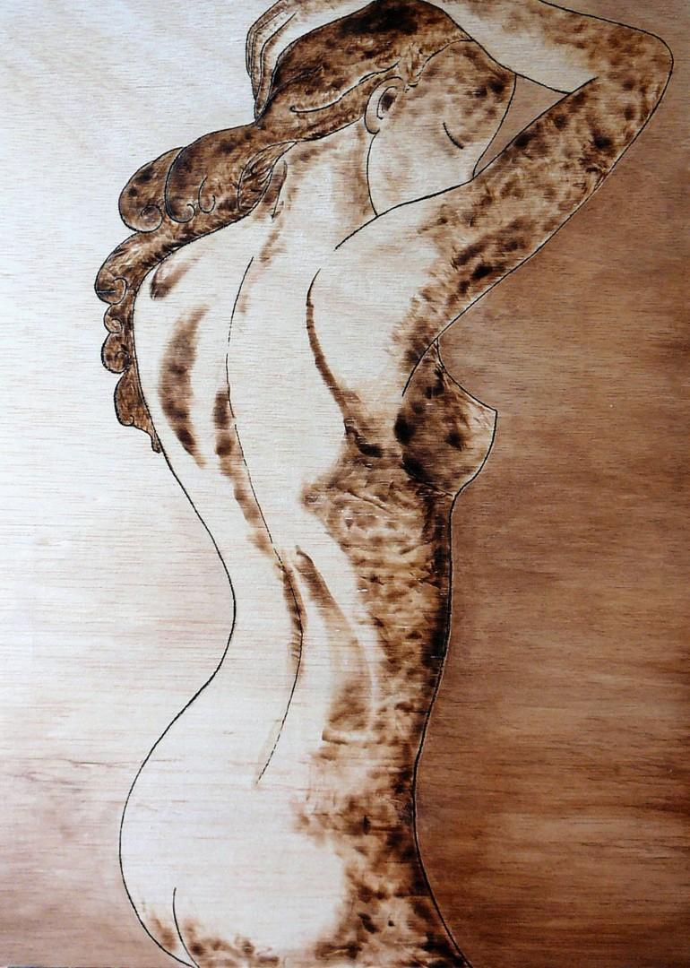 Gioia Albano - Burned Shadow, Divine feminine collection
