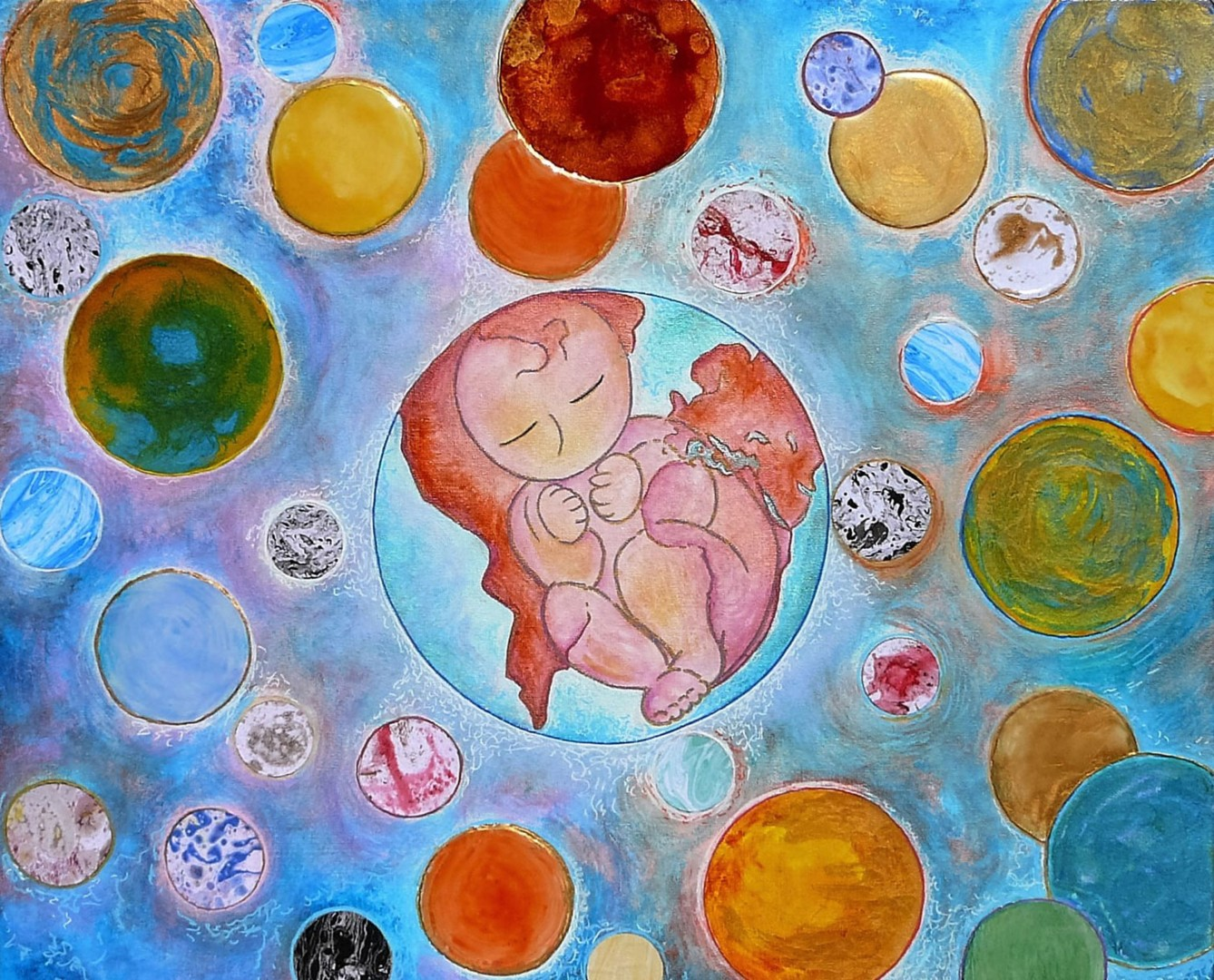 Gioia Albano - My place in the world #artistsupportpledge