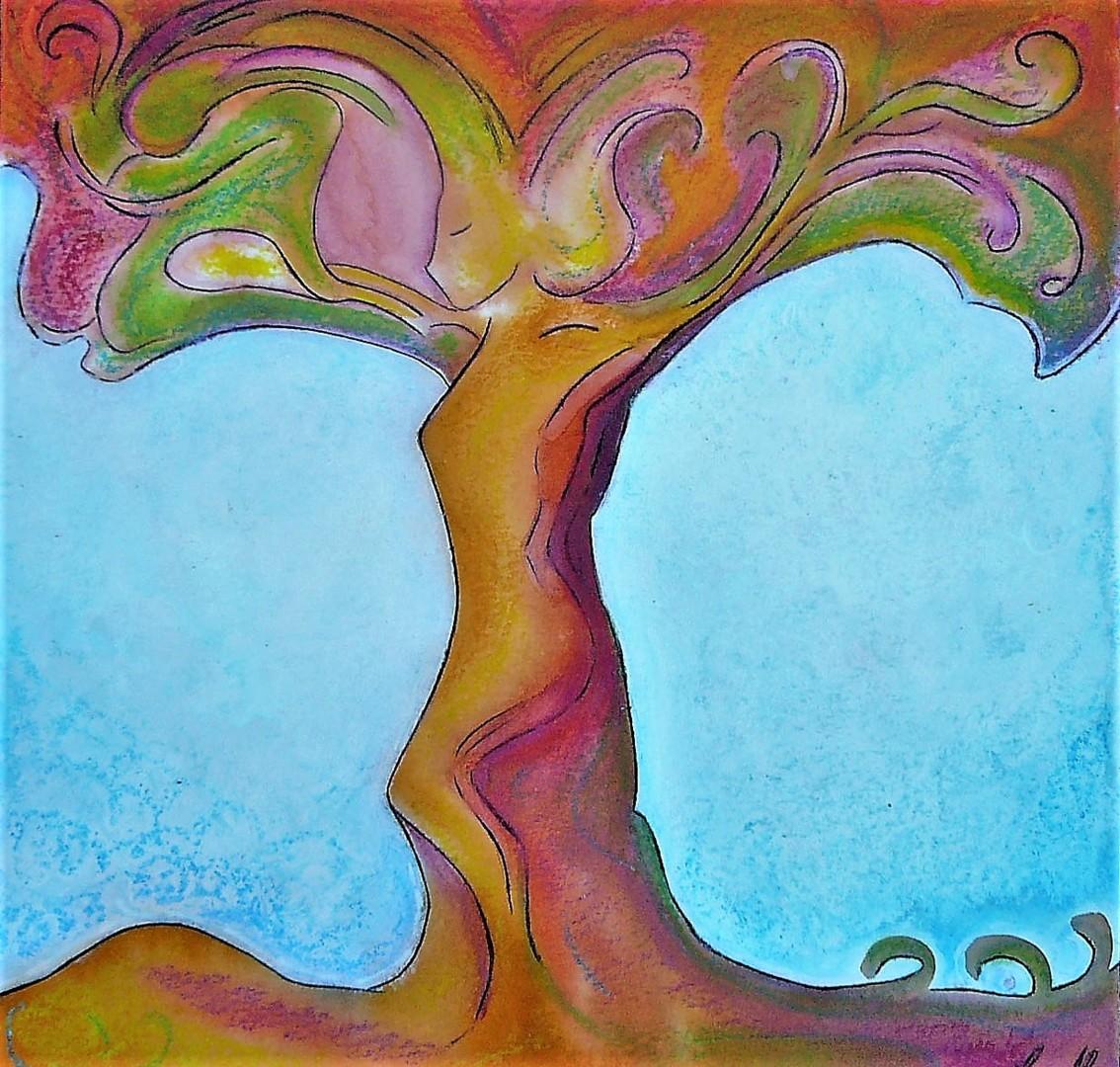 Gioia Albano - Tree's soul, healing art