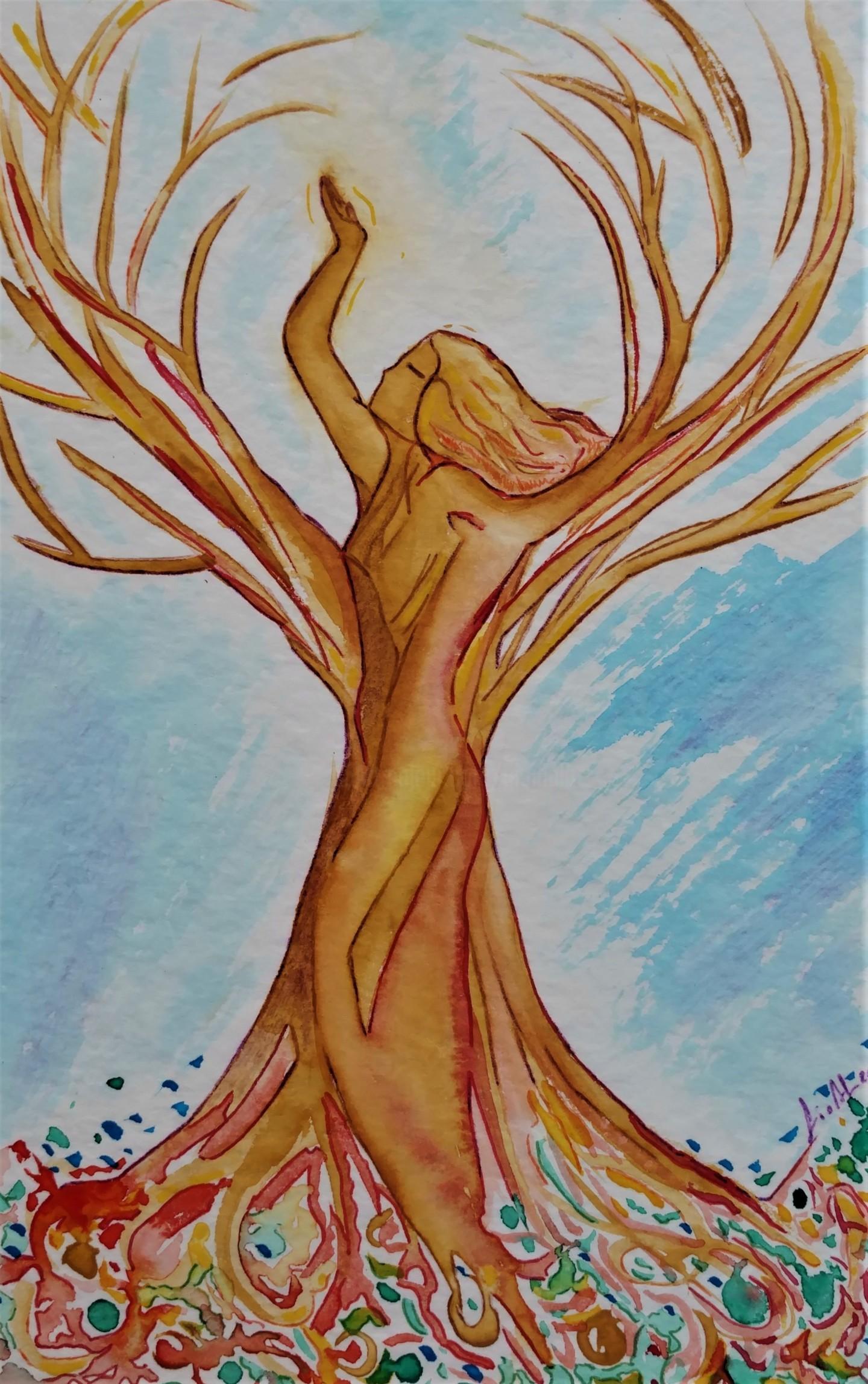 Gioia Albano - Femme arbre (Woman Tree)