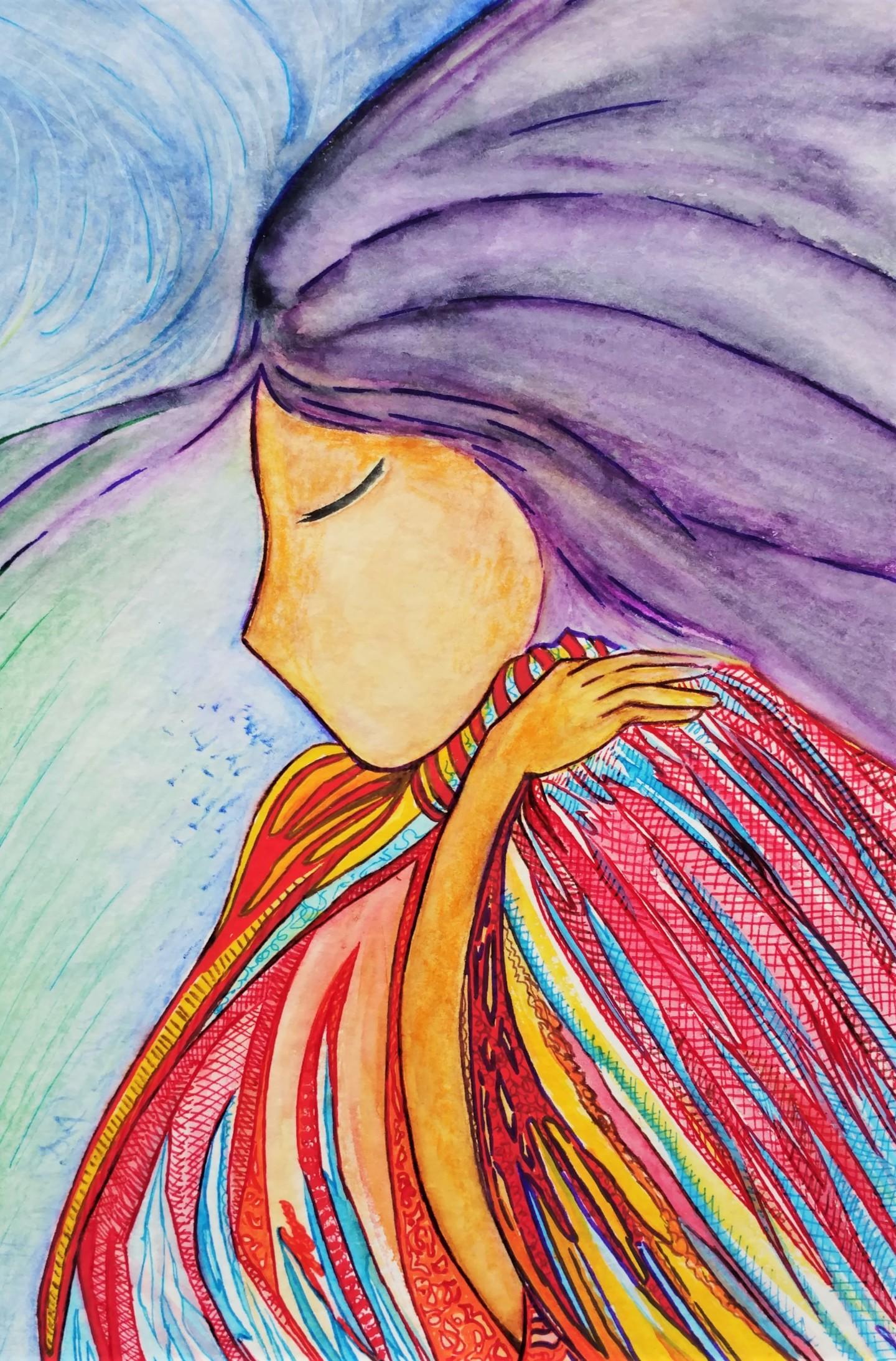 Gioia Albano - La chamane (The shamaness)