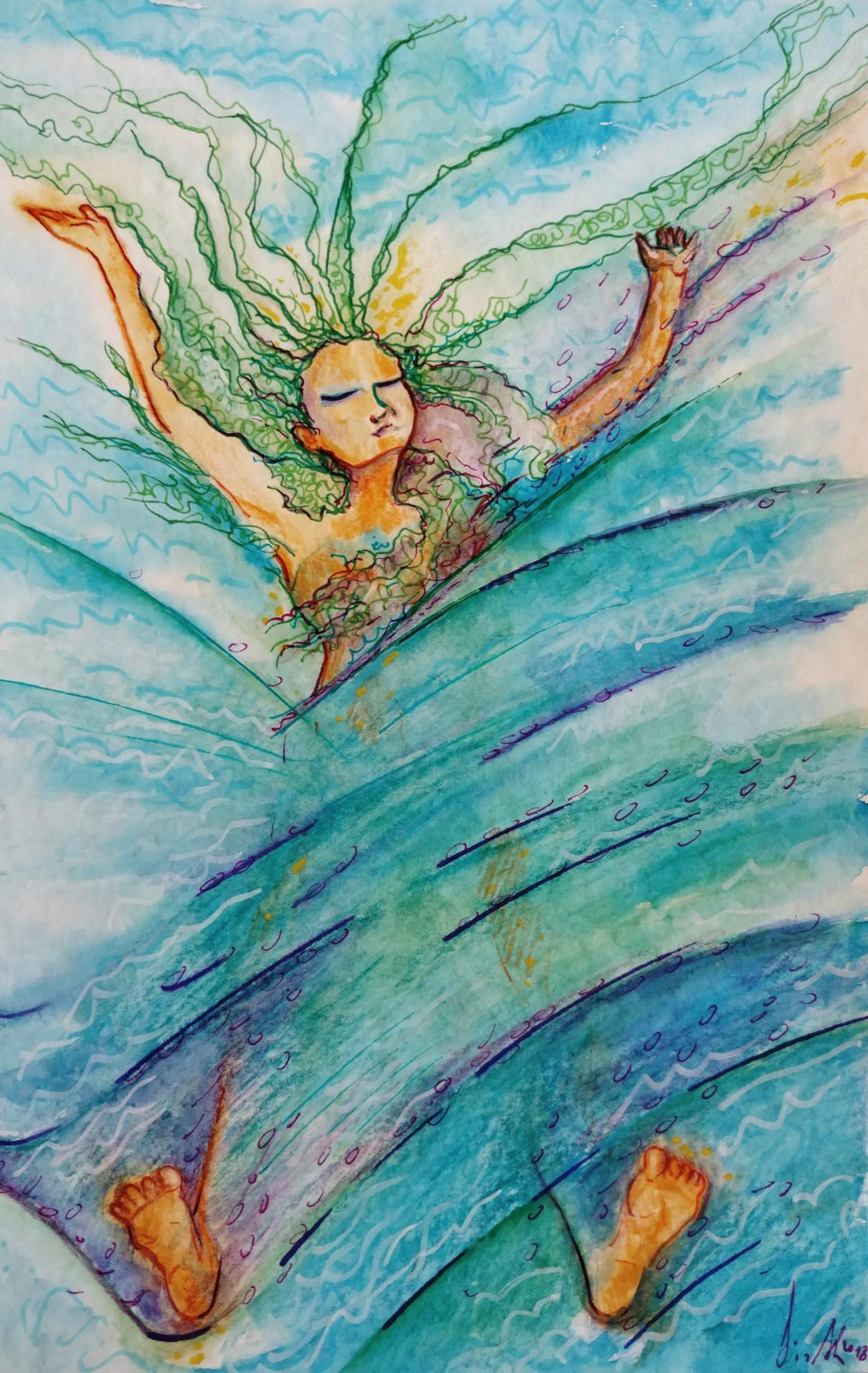 Gioia Albano - Femme Océan (Donna oceano)