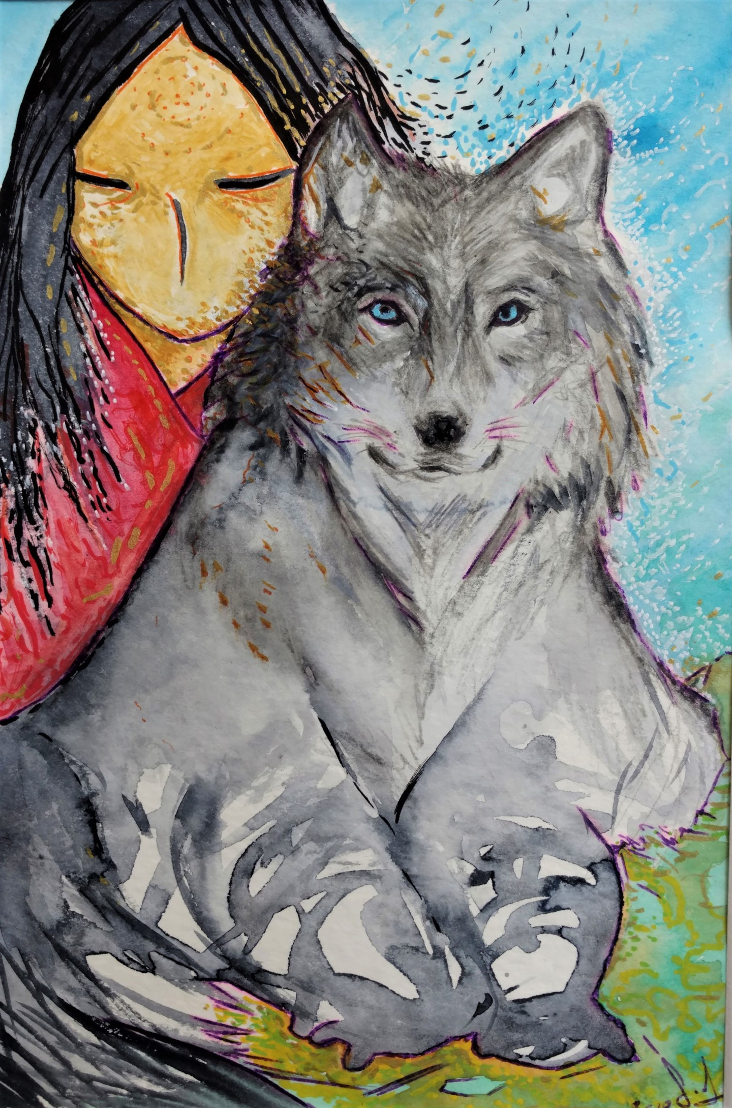 Gioia Albano - La louve (She wolf)