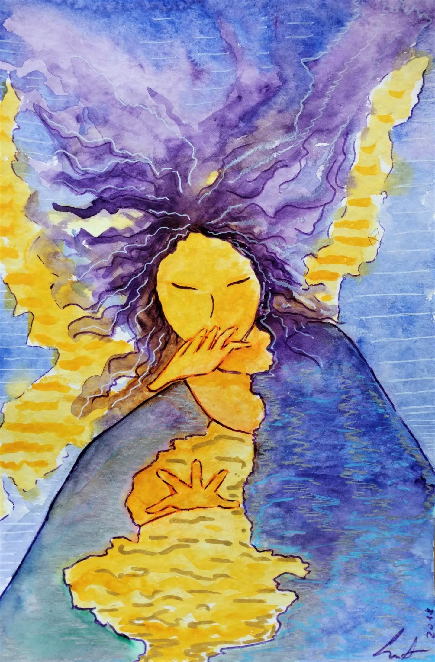 Gioia Albano - Storm woman (Femme tempête)