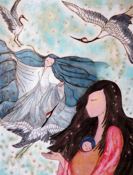 Gioia Albano - Whole in the white (Snow woman)