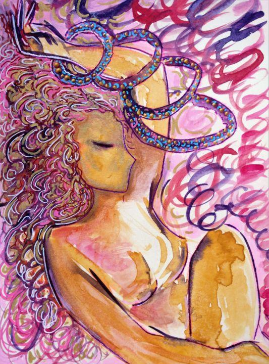 "Gioia Albano - Les boucles (titre en français ""The circles"")"