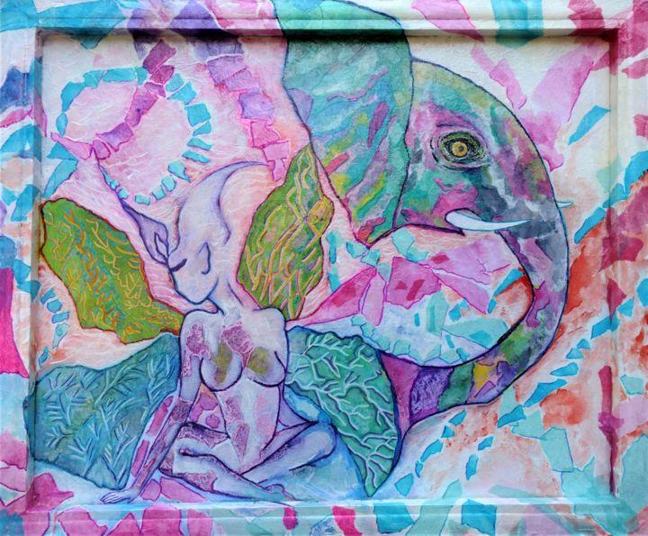 Gioia Albano - Lilith and the elephant