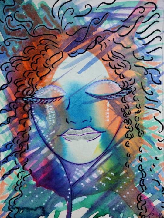 Gioia Albano - Beautiful Goddess's face